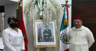 Maroc-Mexique,Abdelfattah Lebbar,Delfina Gomez Alvarez,Affaires étrangères
