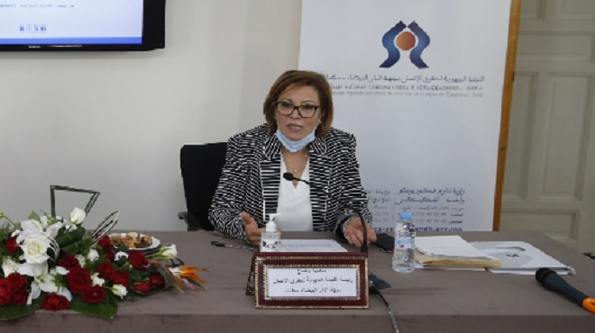 CRDH,droits de l'homme au maroc,Saadia Ouaddah,Casablanca