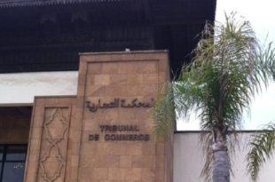 Tribunal de commerce,Casablanca,paiement électronique,TPE
