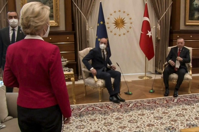 Recep Tayyip Erdogan,Turquie,Ursula von der Leyen