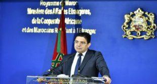 Nasser Bourita,Ismaël Ould Cheikh Ahmed,Maroc-Mauritanie