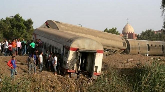 Caire,déraillement,Egypte,train