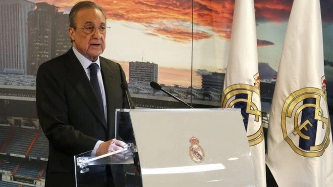 Florentino Pérez,football,UEFA,Super League