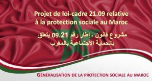 projet de loi-cadre n°09.21,Protection sociale