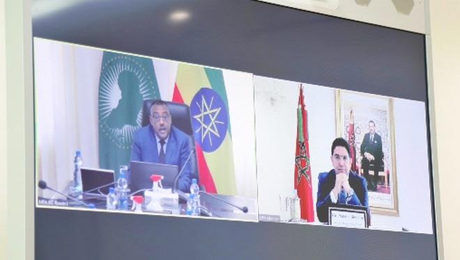 Maroc-Éthiopie,Sahara marocain