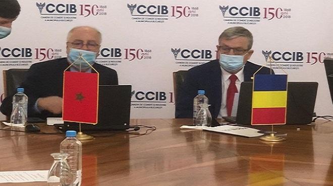 Maroc-Roumanie,CCIB