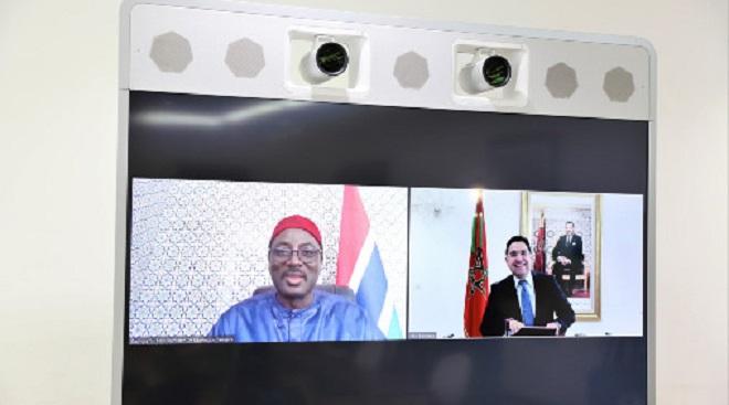 Gambie,Mamadou Tangara,Nasser Bourita