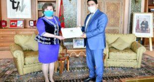 Nouveaux ambassadeurs,Nasser Bourita