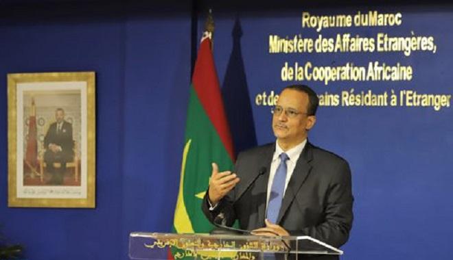 Maroc-Mauritanie,Ismail Ould Cheikh Ahmed,Nasser Bourita