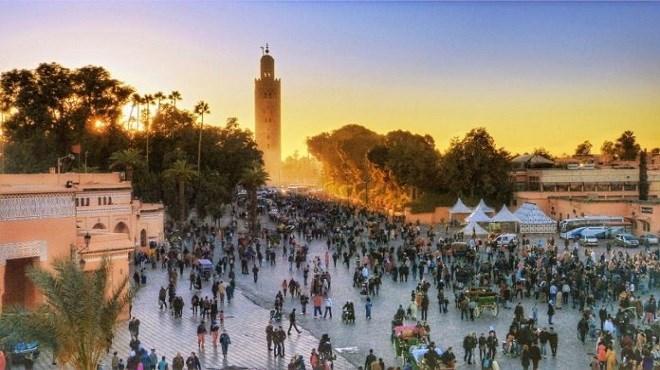 Marrakech,Place Jemaâ El Fna