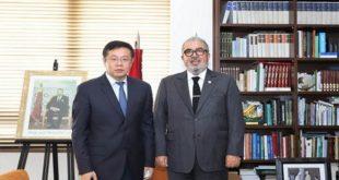 Chine-Maroc,Khalil Hachimi Idrissi,Li Changlin