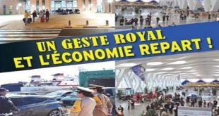 relance économique,relance touristique,MRE,SM le Roi Mohammed VI