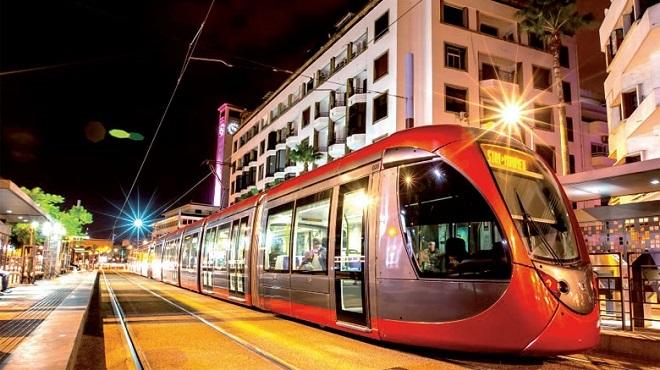 tramway,Casablanca