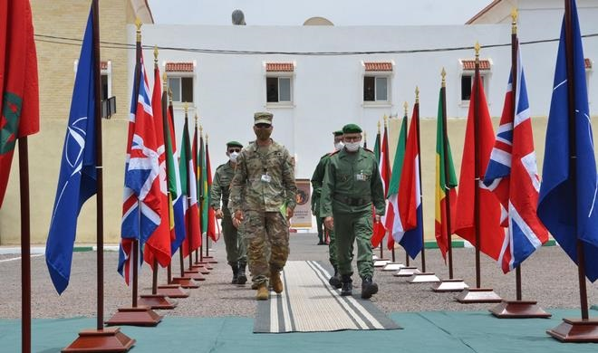 Etats-Unis Maroc,African Lion 2021,USS-FAR