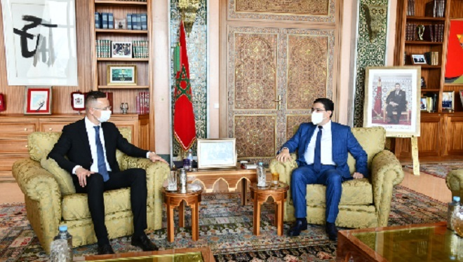 Maroc-Hongrie,Sahara marocain