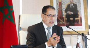Fête du Trône,Chef du gouvernement,Saâd Dine El Otmani