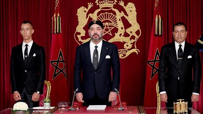 Discours Royal,fête du trône 2021,SM le Roi Mohammed VI
