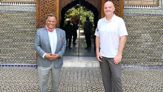 FIFA,Gianni Infantino,Dar El Bacha,Marrakech