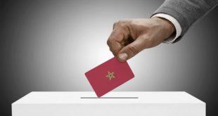 listes électorales. ma,Elections 2021