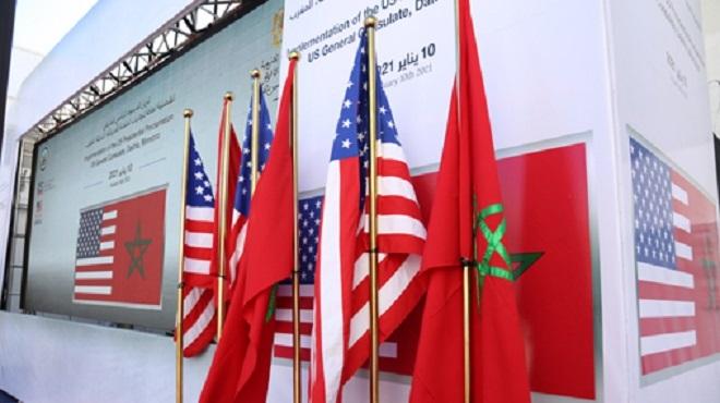 Etats-Unis Maroc,Sahara marocain