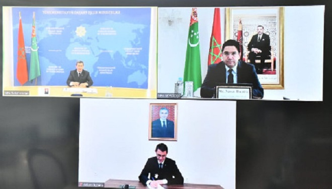 Maroc-Turkménistan,Sahara