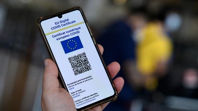 pass sanitaire,Union européenne