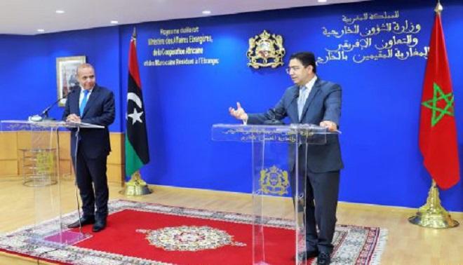 Nasser Bourita,maroc-libye,Abdallah Al-Lafi