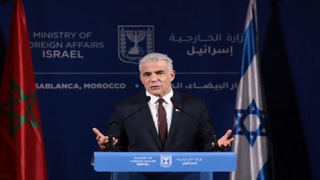 Etats-Unis-Maroc-Israël,Yair Lapid
