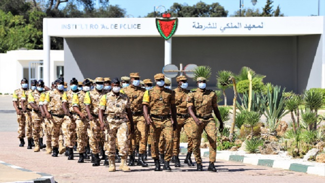 Maroc-Burkina Faso,DGSN,GSPR,Institut Royal de Police,IRP,Kénitra
