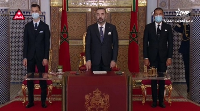 Fête du Trône 2021,maroc-algérie