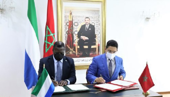 Maroc-Sierra Leone,coopération bilatérale