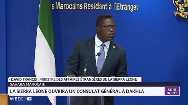 Maroc-Sierra Leone,Mohcine Jazouli,Nasser Bourita