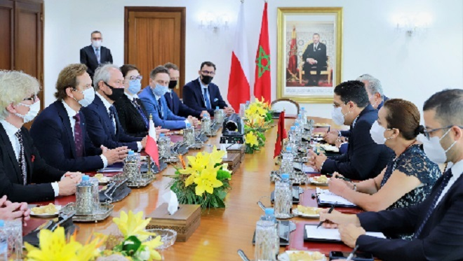 Pologne-Maroc,Laâyoune,Dakhla