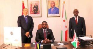 Maroc-Burundi,Laâyoune,Consul général du Royaume,Benjamin Ndagijimana