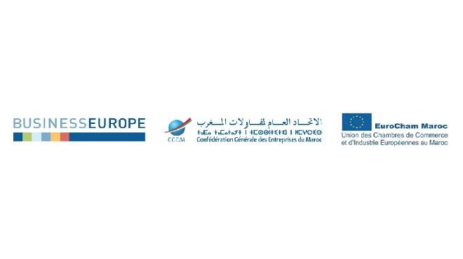 Business Europe,CGEM,EuroCham,UE-Maroc