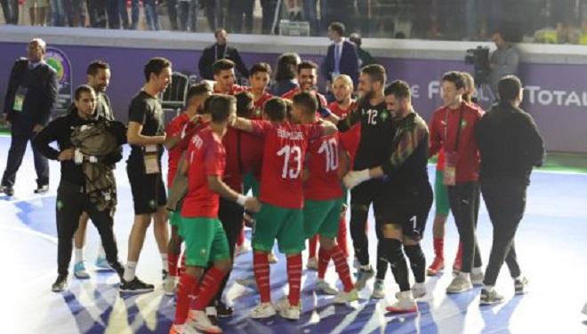 Coupe du monde de futsal,Venezuela-Maroc