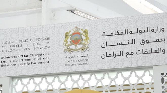 Ministère d'État chargé des droits de l'Homme