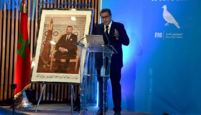 Nouveau Gouvernement,Aziz Akhannouch,RNI