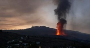 Volcan,Cumbre Vieja,La Palma,Canaries
