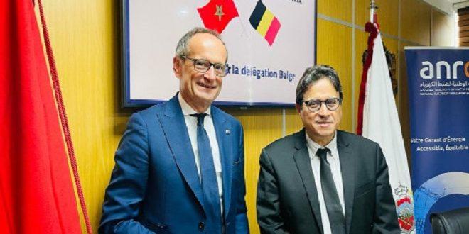 Maroc-Belgique | Les énergies renouvelables au centre d'une réunion entre l'ANRE et Agoria