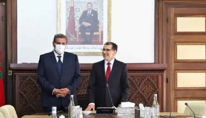 nouveau gouvernement,Saad Dine El Otmani,Aziz Akhannouch