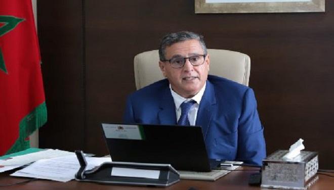 Conseil de gouvernement,Aziz Akhannouch