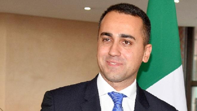 Maroc-Italie,Luigi Di Maio