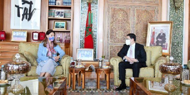 Nasser Bourita s'entretient à Rabat avec la vice-présidente de Colombie