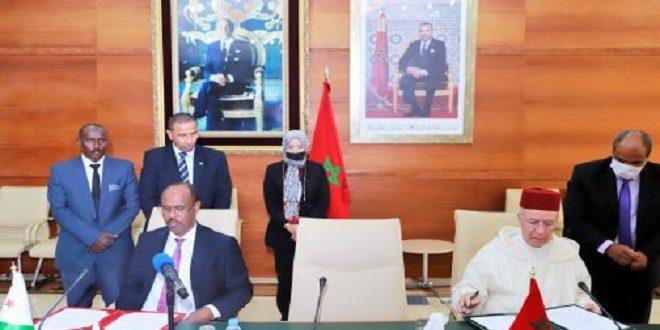 Maroc-Djibouti | Accord pour promouvoir la coopération dans les domaines liés à la chose religieuse