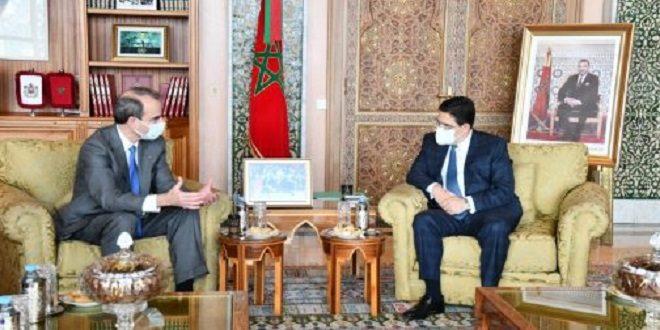 Nasser Bourita reçoit une délégation de l'American Jewish Committee