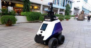 Singapour,robots patrouilleurs,Xavier