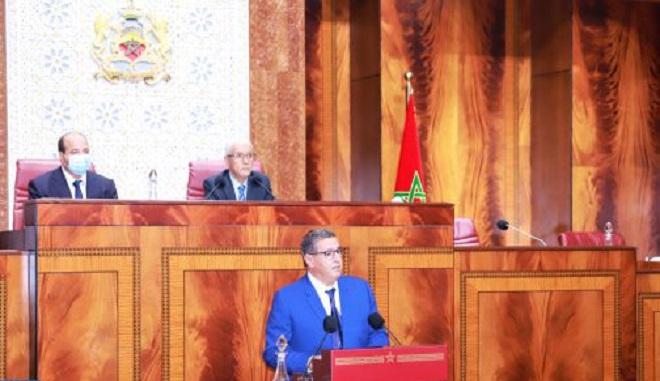 Chef du gouvernement,Aziz Akhannouch