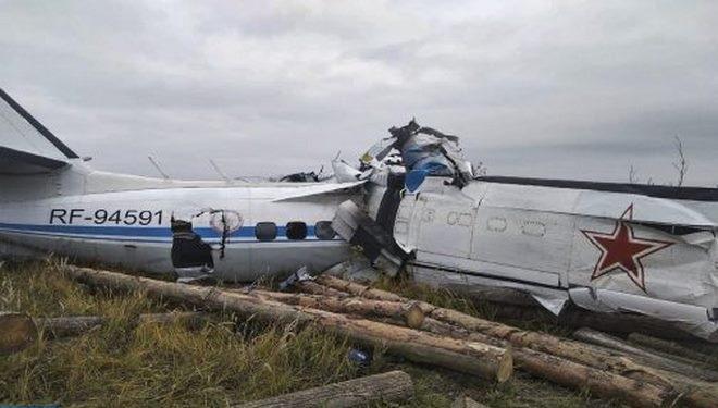Russie,crash avion