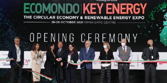 Economie verte | Coup d'envoi à Rimini de l'Ecomondo et du Key Energy 2021 avec la participation du Maroc